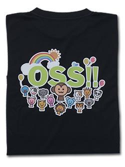 OSS!! アニマル Tシャツ (黒) 画像