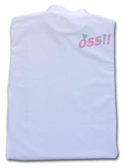 OSS!! ぷち動物 Tシャツ 長袖ストレッチアンダーウェア (白) 画像