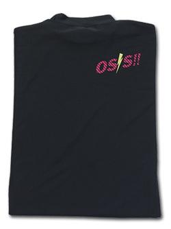 OSS!! ライジン Tシャツ 長袖ストレッチアンダーウェア (黒) 画像