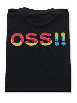 OSS!! ばぶりん Tシャツ (黒) 画像