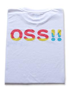OSS!! ばぶりん Tシャツ (白) 画像