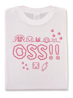 Tシャツ OSS!! わんわん (白)  画像