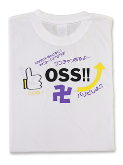 Tシャツ OSS!! SNS (白)  画像