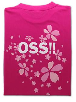 OSS!! 桜2015 Tシャツ トロピカルピンク 画像