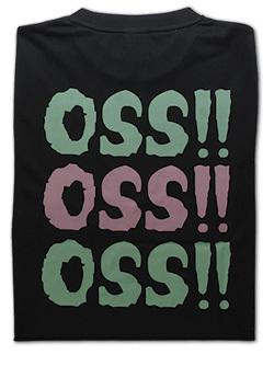 OSS!! トリプル Tシャツ 黒 画像