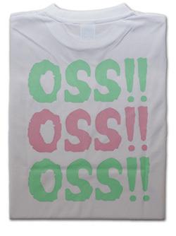 OSS!! トリプル Tシャツ 白 画像