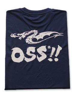 OSS!! ドラゴン Tシャツ (紺) 画像