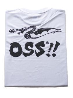 OSS!! ドラゴン Tシャツ (白) 画像