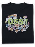 OSS!! アニマル Tシャツ 黒