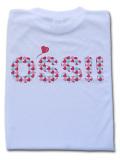 OSS!! ハート Tシャツ 白