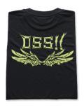 OSS!! メタル Tシャツ 黒