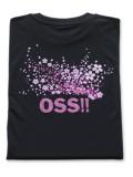 OSS!! 桜 2017 Tシャツ 黒