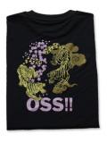 OSS!! 虎 Tシャツ 黒