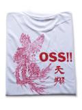 OSS!! 天翔 Tシャツ 白