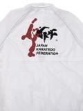 JKF KICK ジャンパー【フードインタイプ】 (白)
