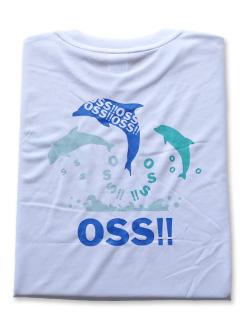 OSS!! ドルフィン Tシャツ 白