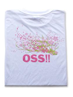OSS!! 桜 2017 Tシャツ 白