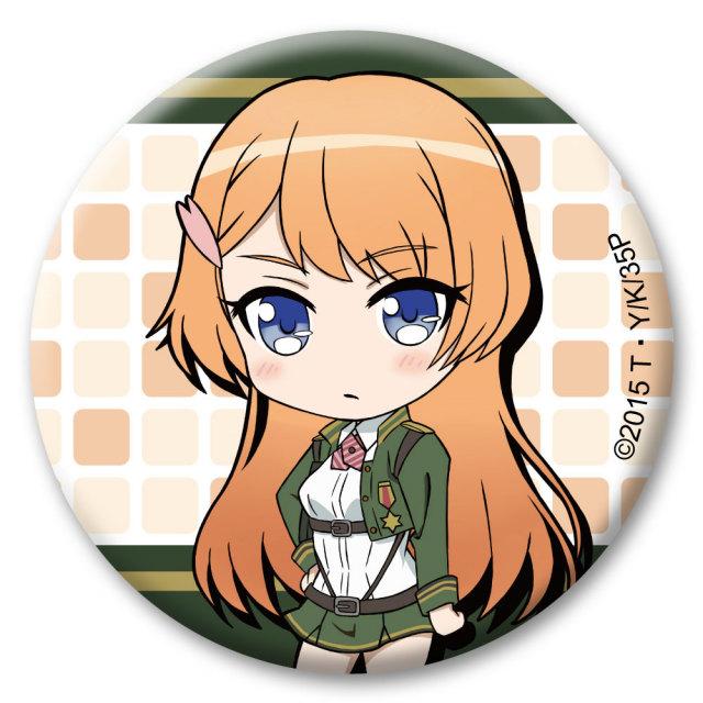 対魔導学園35試験小隊 缶バッジ 鳳桜花