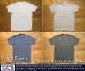 [VelvaSheen]ベルバシーン-ピグメントダイクルーネックTシャツ