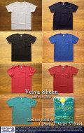 [VelvaSheen]ベルバシーン-限定1pポケットTシャツ(Vネック)