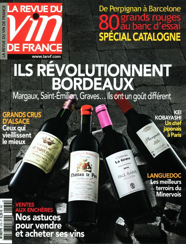 La revue du vin de france n 39 579 for Revue vin de france