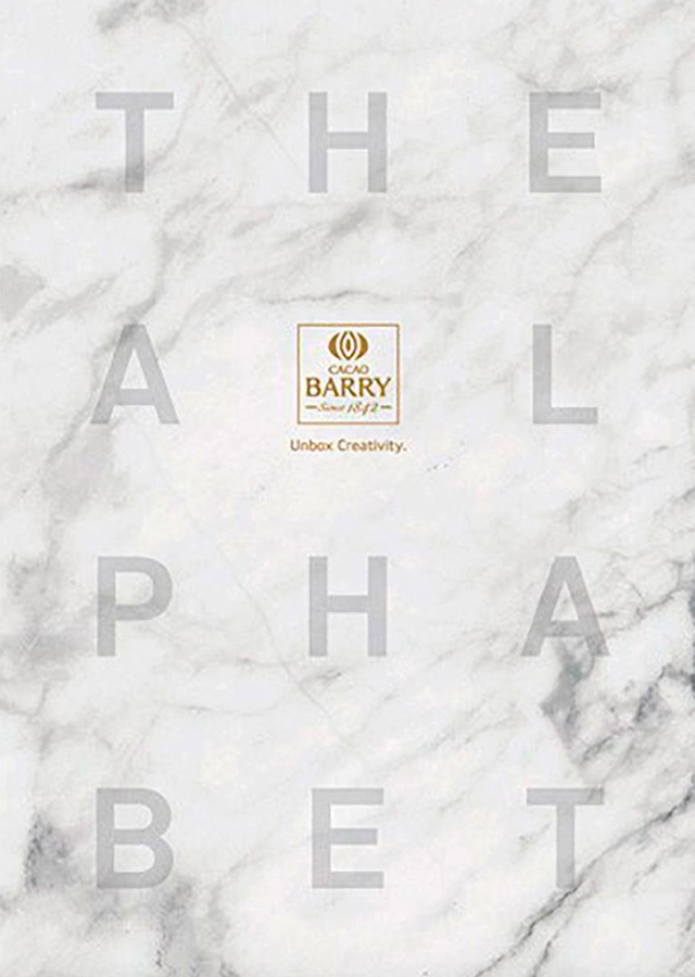 The Pastry Alphabet  Cacao Barry (スペイン) 英語版