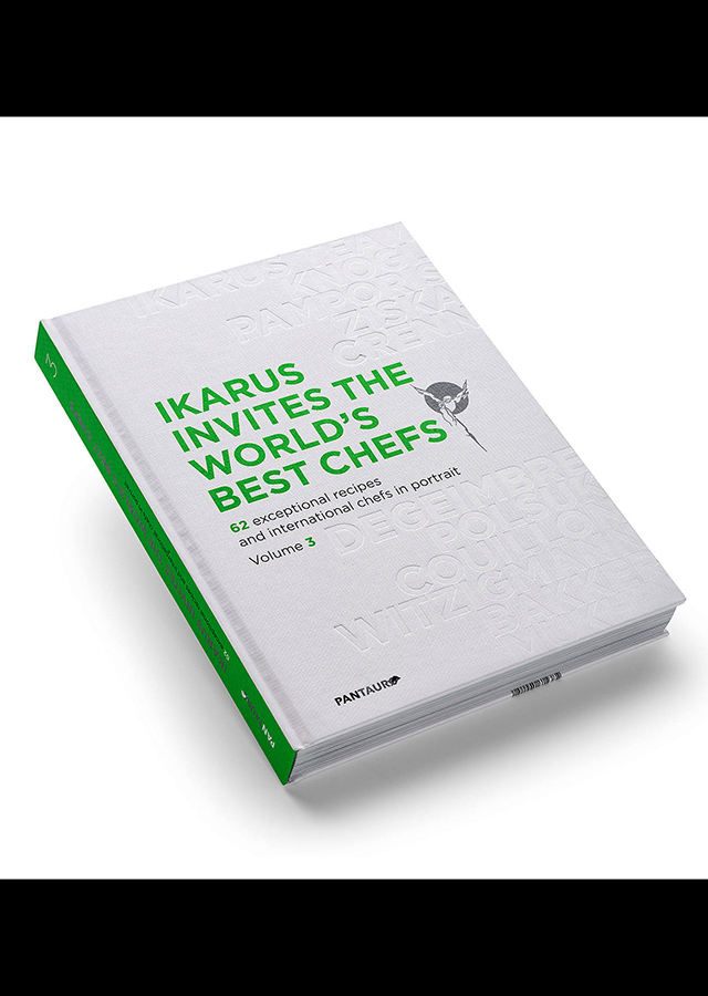 IKARUS INVITES THE WORLD'S BEST CHEFS volume 3 (オーストリア)