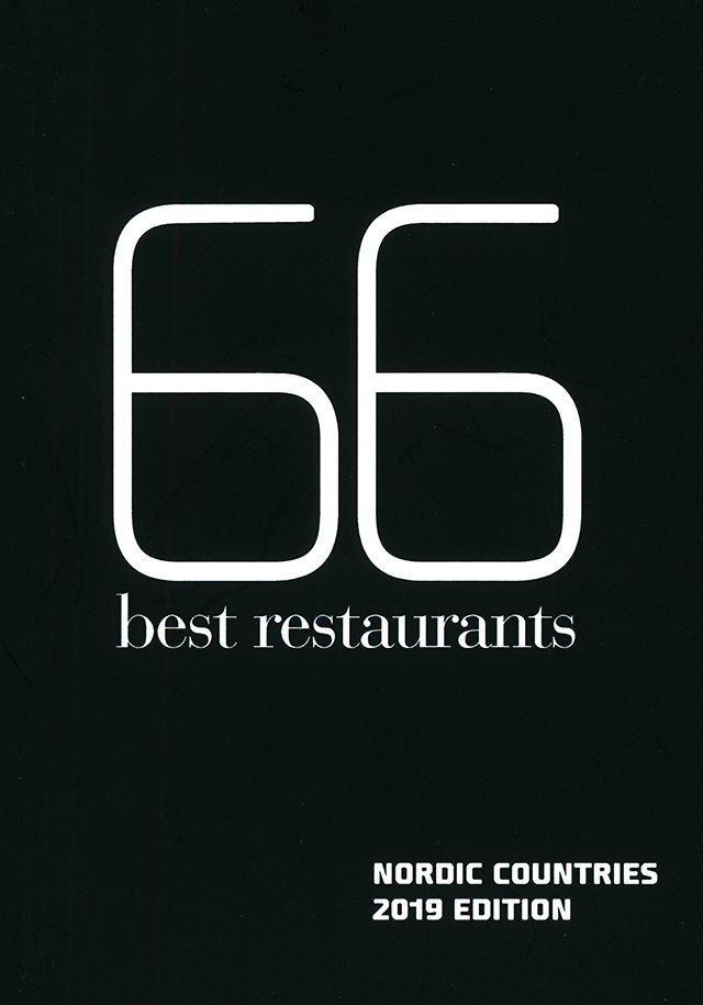 66 best restaurants NORDIC COUNTRIES 2019 EDITION (北欧)