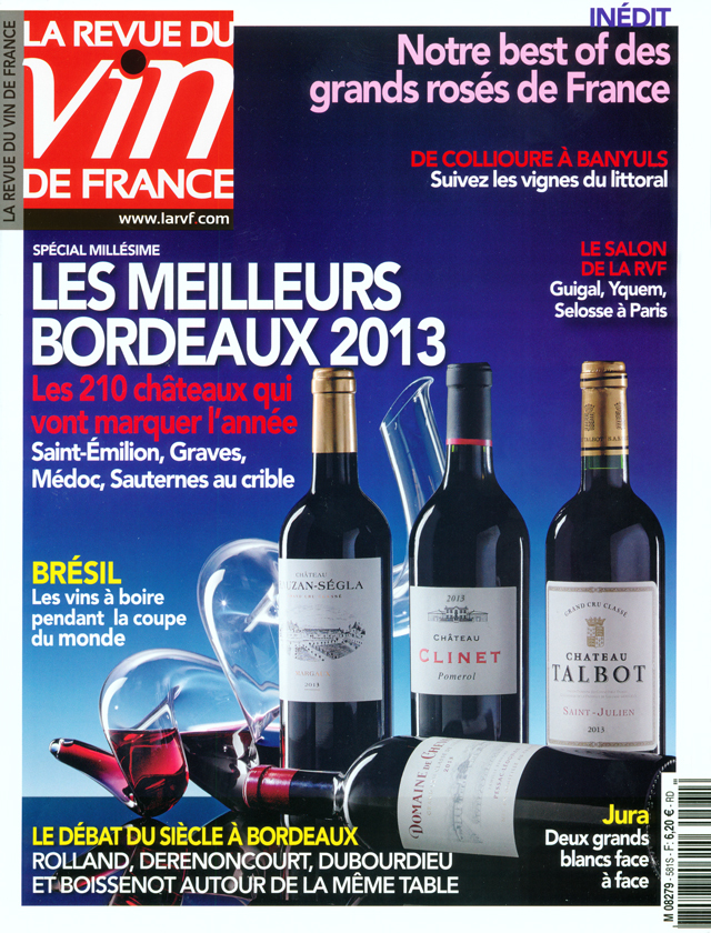 La revue du vin de france n 39 581 for Revue des vins de france
