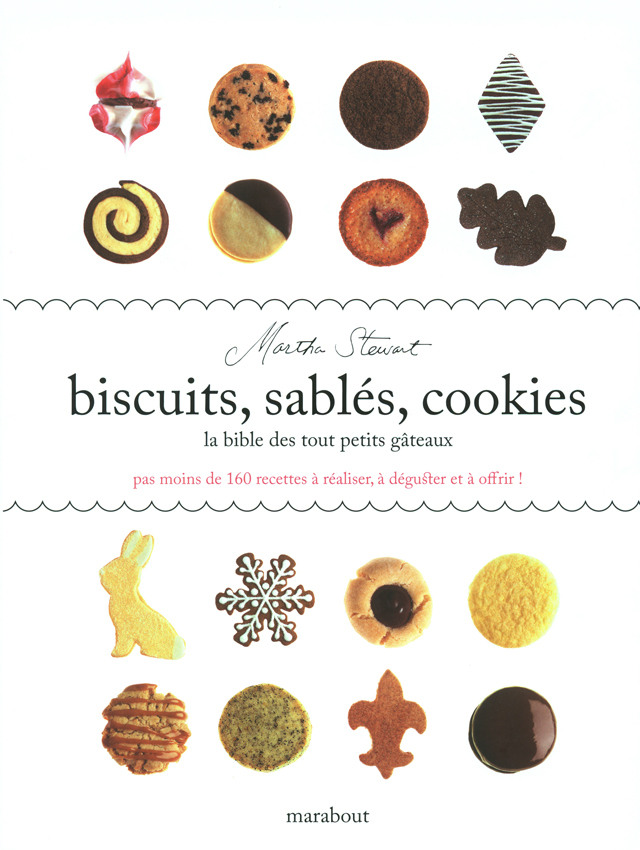 biscuits, sables, cookies  (アメリカ)