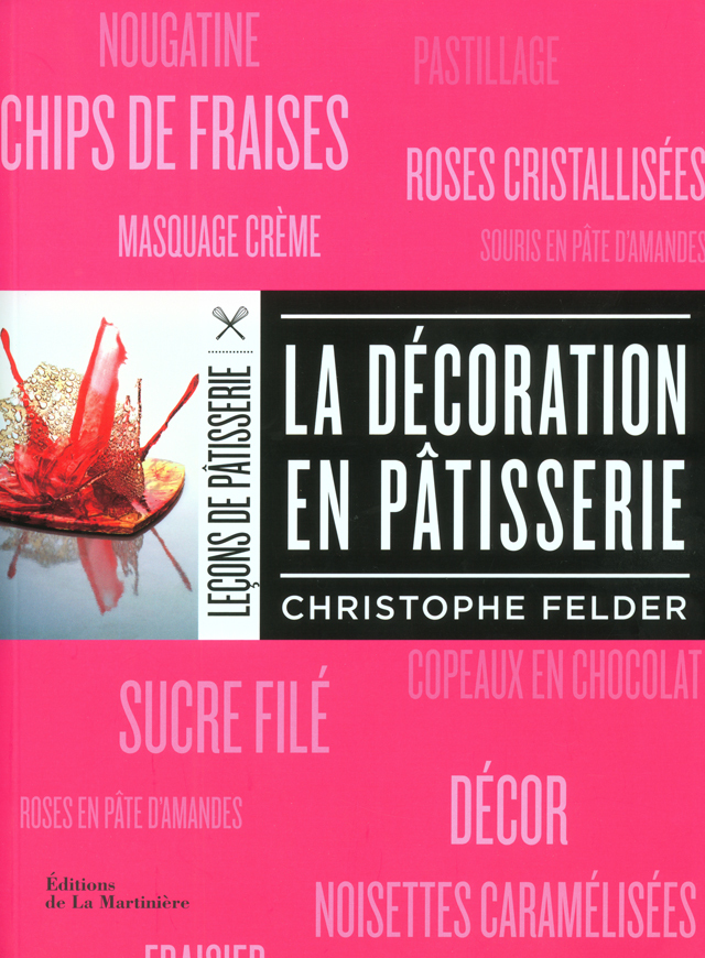 LA DECORATION EN PATISSERIE (フランス)