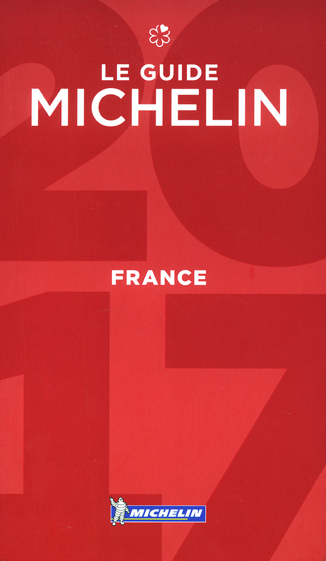 LE GUIDE MICHELIN FRANCE 2017 (フランス)