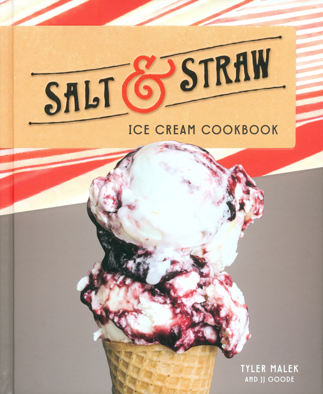 SALT STRAW ICE CREAM COOKBOOK (アメリカ)