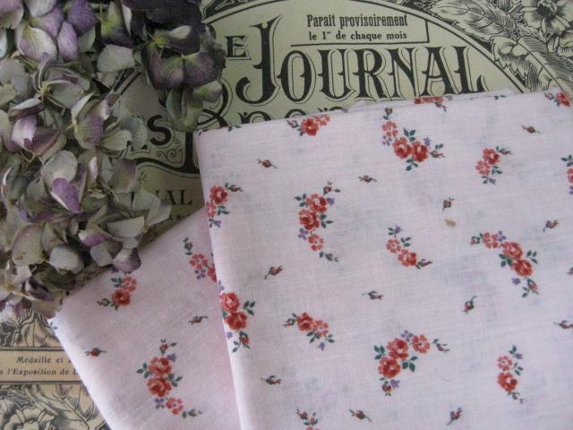 フレンチカットクロス(Petite fleurs/Pink)