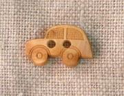 フランス木製ボタン(Car)
