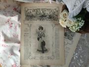 フランスファッション新聞 LA MODE ILLUSTREE ラ・モード・イリュストレ (1907年10月20日)
