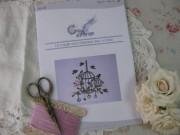 クロスステッチ刺繍図案(La cage aux oiseaux)