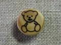 フランス木製ボタン(ベアS)