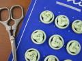 フランスアンティークプラスチックボタン(Vert clair)