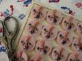 フランスプラスチックバニーボタン(Pink)