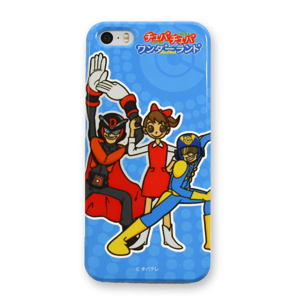 【チュバチュバワンダーランド】iPhone SE・iPhone 5・iPhone 5s 対応ケース(キャプテン☆C・ダスターD・おねえさん)