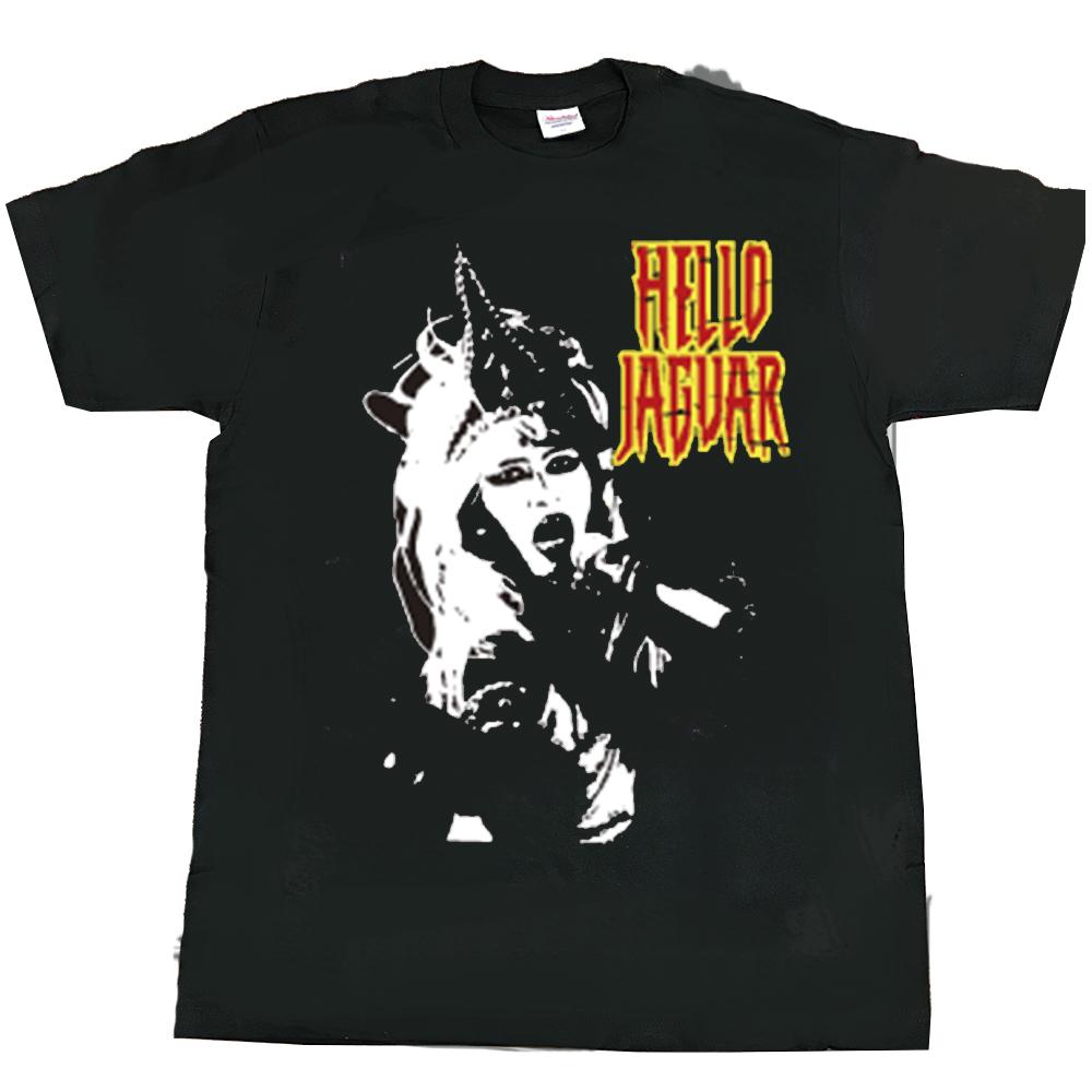 ジャガーさん(JAGUARさん) Tシャツ(黒B)メンズS~XLサイズ   (LC)