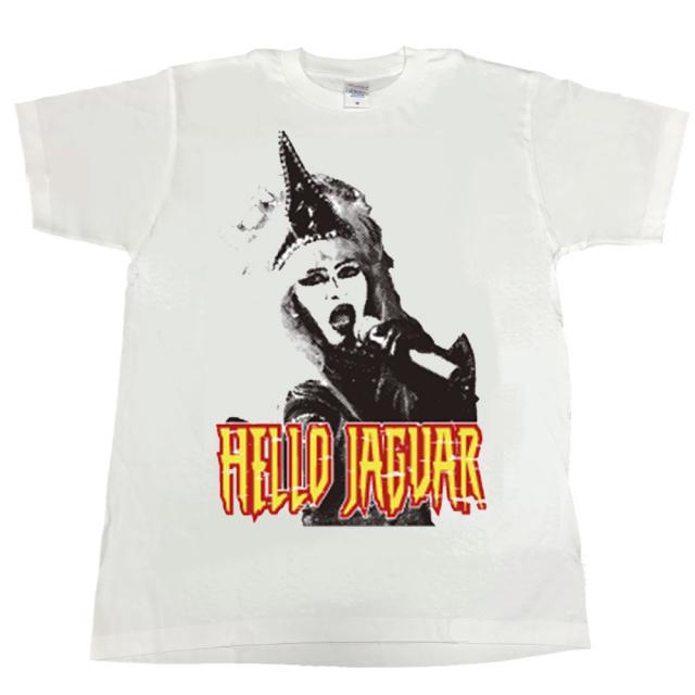 ジャガーさん(JAGUARさん) Tシャツ(白)メンズS~XLサイズ   (LC)
