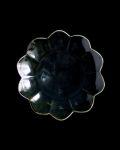 水谷和音 瑠璃釉菊花皿