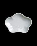 新道工房 白磁梅形小皿