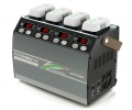 ★Phantom3と4に対応。フライトバッテリー、送信機、タブレットまで充電可★G-FRCE(ジーフォース) Multi Charging Dock for Phantom Smart Battery