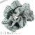 親子お揃いシュシュ(ペアヘアアクセサリー)専門店ジュメルツイード高級シュシュDIVAブラック商品画像