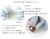 【親子お揃いプレゼント】ジュメル神戸オーガニックコットン100%ブルーボーダーとブルーリボンシュシュメイン詳細