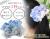 【親子お揃いプレゼント/高級シュシュ】水色ギンガムチェックとブルーリボンのママシュシュ【出産祝い/ペア/誕生日/ジュメル神戸】メイン