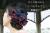 【親子お揃いプレゼント】レッドチェックネイビーリボンママシュシュ【出産祝い/誕生日/オシャレ】メイン 1